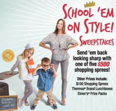 "Land O'Frost ""School 'Em on Style"" Sweepstakes"
