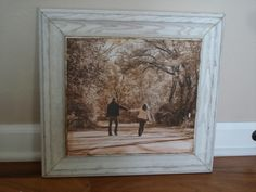 cabinet door diy projects--frame photos with cabinet door from joy is at home