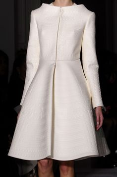 Valentino 2014. Absolutely Smashing!  The color, the fabric, the texture, the design, the styling, everything...a real statement coat!!!