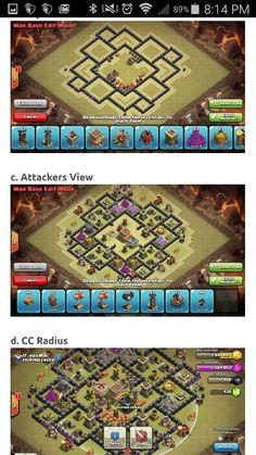How to: TH8 war base