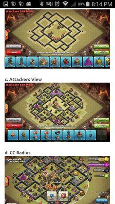 8 - Base TH 10 Clan War   Jalantikus
