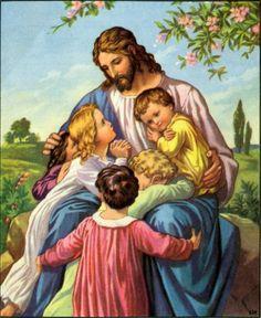 Let the children come unto Me....