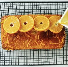 I so love using seasonal ingredients in cooking and baking. With winter in full swing, citrus fruit season has finally arrived. This is the time of year I always seem to crave a slice of cake, in particular this citrus loaf cake, soaked in syrup to make it super moist. You can use any citrus fruit for this. I just happen to have the most deliciously sweet clementines in the house at the moment. Drizzle Cake, Loaf Cake, Syrup, Baking Recipes, Homemade, Seasons, Fruit, My Favorite Things, Cooking