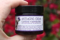 Best Selling Anti-Aging Firming Cream with Caffeine & Resveratrol – Wild Violetta