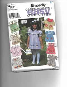 Simplicity 7091 by CraftingMoose on Etsy