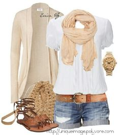 Casual summer day-yes for summer clothes clothes style summer outfits Cute Summer Outfits, Spring Outfits, Casual Outfits, Casual Summer, Summer Clothes, Late Summer, Style Summer, Summer Nights, Early Spring