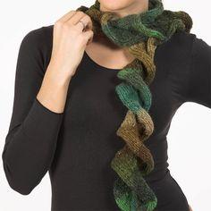 How to Knit a Ruffle Spiral Scarf | Blog | allyson-BLOG - Yahoo! Blog