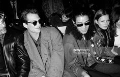 Christian Slater, Kara Young, and Kate Moss, 1993