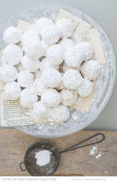White chocolate truffles...
