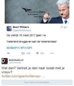 Goed nieuws: Wilders vertrekt!