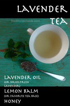Lavender Tea @ Traditional-Foods.com