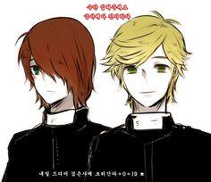 ♡ Miraculous Ladybug ♡ Nathaniel (Nathanael) and Adrien