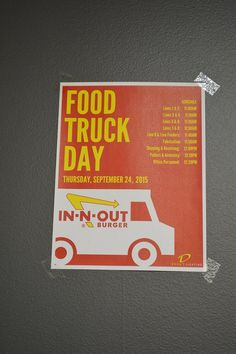 In N Out Catering Truck : catering, truck, Truck, In-N-Out, Ideas, In-n-out, Burger,, Truck,, Federal, Credit, Union