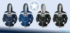 Captain America Hoodies by prathik