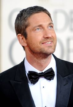 Gerard Butler....his eyes, accent...everything