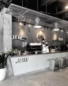 Each restaurant has a brand.Great, powerful, and effective restaurant branding is all about marrying your marketing with your operations. Cafe Shop Design, Coffee Shop Interior Design, Restaurant Interior Design, Coffee Design, Home Interior, Interior Shop, Simple Interior, Classic Interior, Apartment Interior