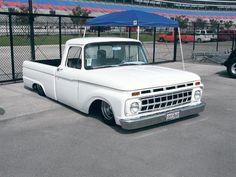 Z Ford Truck Hot Rod Trucks, Cool Trucks, Big Trucks, Cool Cars, Small Trucks, Mustang Truck, F100 Truck, Dream Car Garage, Lowered Trucks