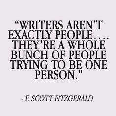 F. Scott Fitzgerald quote