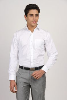 Arihant Men's Solid Formal Shirt at India's Best Online Shopping Store. Only Genuine Products. Free Shipping. Cash On Delivery!
