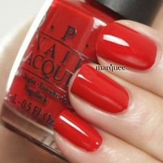 Get the Supplies :: Patriotic Nail Polishes (RED)  By: OPI Nail Polish Classic Red    www.FineCraftArt.com