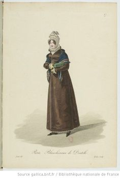 Blanchisseuse de Dentelle from Georges-Jacques Gatine, Costumes d'ouvrières parisiennes, 1824, BNF Paris
