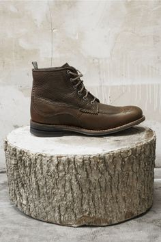 Caterpillar Isaac Briar Leather Boots