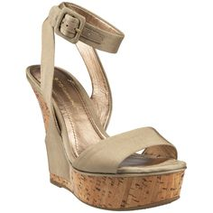 BCBGeneration Rink Cork Wedge Sandal with Ankle Strap  OMG, SOOO perfect in black.  I wanted these sooooo bad but walked away $73 On Sale