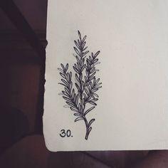 tattoo raminho de alecrim - Pesquisa Google
