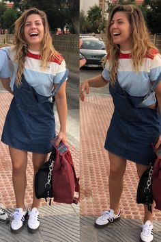 Overall Shorts, Laughter, Overalls, Celebs, Outfits, Hair, Beautiful, Queens, Music