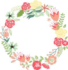 Get Floral Frame. Cute Retro Flowers Arranged Un A Shape Of The Wreath Perfect For Wedding Invitations And Birthday Cards royalty-free stock image and other vectors, photos, and illustrations with your Storyblocks Imagesmembership. Retro Flowers, Vintage Flowers, Circle Borders, Corona Floral, Floral Border, Flower Frame, Watercolor Flowers, Easy Watercolor, Flower Arrangements
