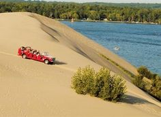 Silver Lake sand dunes, Michigan This may be a sooner than later idea.  :)