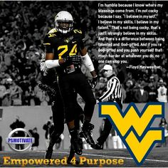West Virginia Defensive Back Jeremy Tyler #24 PSMOTIVATE