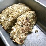 Oatmeal Chocolate Chip Banana Bread- Uses coconut oil (Journalism End of the Year Party??, Teacher/Friend  Gift?)