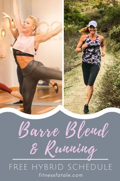 In January, you'll find me running to the barre! Barre Blend will be Beachbody on Demand's first ever barre program and I can't wait! Running Schedule, Workout Schedule, Running Workouts, Running Training, Running Tips, Running Humor, Trail Running, Weekly Workouts, Running Quotes