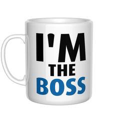I'm the boss kubek Be The Boss, Magick