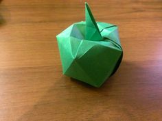 Apple origami by Paper Brothers, $7.00 USD