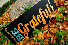 Grateful board for T