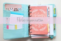 Filofax Organization