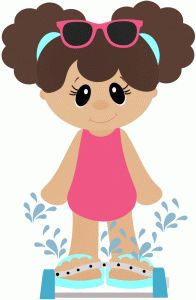 Silhouette Design Store - View Design girl playing in sprinkler Disney Cartoon Characters, Craft Images, Silhouette Online Store, Cute Clipart, Scrapbook Embellishments, Felt Dolls, Free Baby Stuff, Pictures To Draw, Silhouette Design