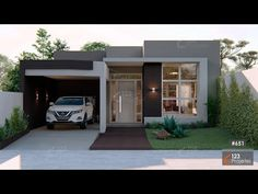 manimiamy - 0 results for home Modern House Facades, Modern Bungalow House, Modern Architecture House, Chinese Architecture, Futuristic Architecture, Modern Houses, Modern Small House Design, Minimalist House Design, Simple House Design