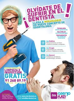 Campaña marketing directo clínicas Dar dental on Behance