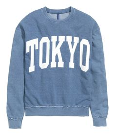 Sweatshirt with Printed Design | H&M Divided Guys
