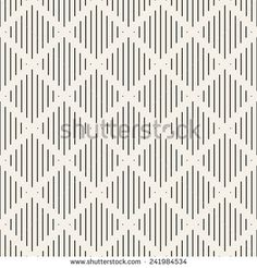 Vector seamless pattern. Modern stylish texture. Repeating geometric tiles with weave rhombuses