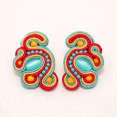 kolczyki sutasz soutache earrings 9