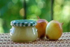 Vöröshagymakrém Hungarian Cuisine, Jar Gifts, Ketchup, Chutney, Preserves, Pickles, Onion, Food And Drink, Tasty