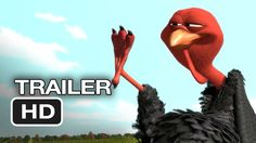 Free Birds Official Trailer #1 (2013) - Owen Wilson Animated Movie HD http://youtu.be/gxslnpqFwOs
