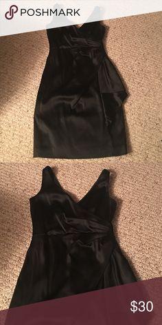 Whit House Black Market Evening Dress Worn once black cocktail dress White House Black Market Dresses Midi