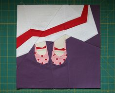 "A reader made Sonja's block ""My Easter Dress"" from Volume 3 and posted it on flickr."