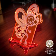 Product Cell phone stand laser cut butterfly / bee template, pattern, design, Mothers day gift. Free Vector designs every day. @ shop-msl.com