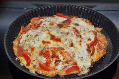 A B C vos IG: Omelette pizza (IG bas)